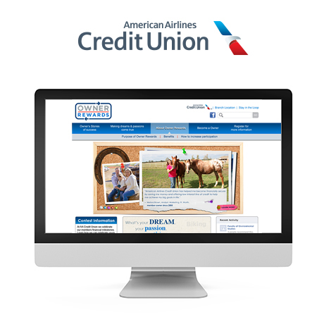 American Airlines CU: Online Rewards Promotion