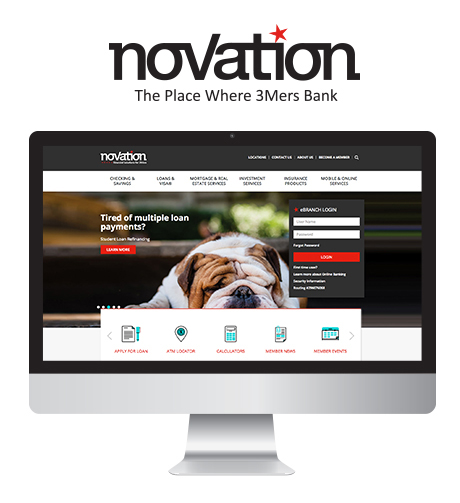 Novation: The Place Where 3Mers Bank